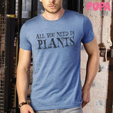 All you need is plants - Men's t-shirt - marl_