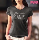 All you need is plants - Women's T-shirt - marl_