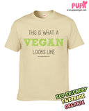 This is what a vegan looks like - Men's t-shirt_