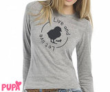 Women's - Live and let live - Longsleeve t-shirt_