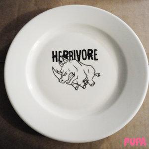 Herbivore dinner plate - porcelain - 24.5 cm