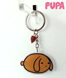 Pupa keychain - double sided